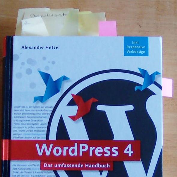 Projekt Eigene Website - Foto WordPress-Fachbuch - Rheinwerk-Verlag